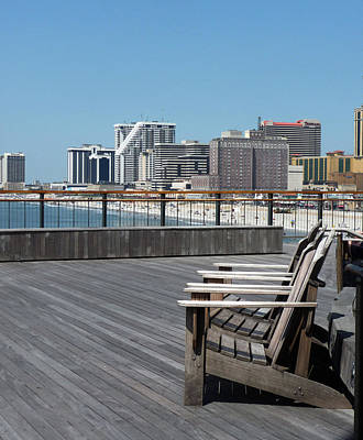 Photograph - Observing Atlantic City by Margie Avellino