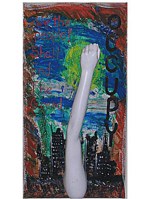 Occupy Painting - Occupy by John Parlett