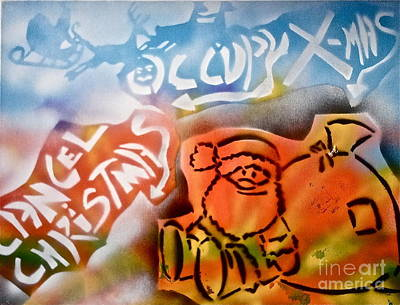 Liberal Painting - Occupy X-mas by Tony B Conscious