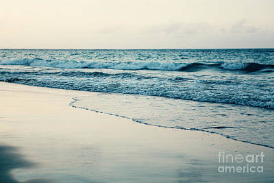 Photograph - Ocean At Sunset by Kim Fearheiley