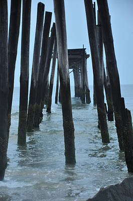 Ocean City 59th Street Pier Art Print by Bill Cannon