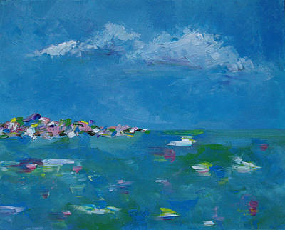 Painting - Ocean Delight by Judith Rhue