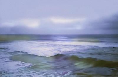 Ocean Dreamscape Art Print by Georgiana Romanovna