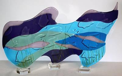 Ocean Art Print by Eleanor Brownridge