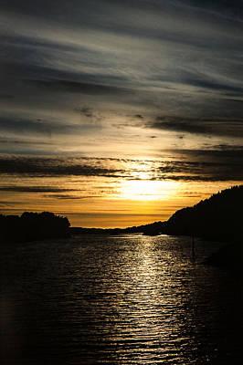 Lightscapes Photograph - Ocean Evening by Hakon Soreide