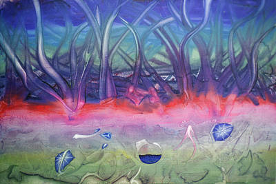Veneta Painting - Ocean Floor by Paul Brink