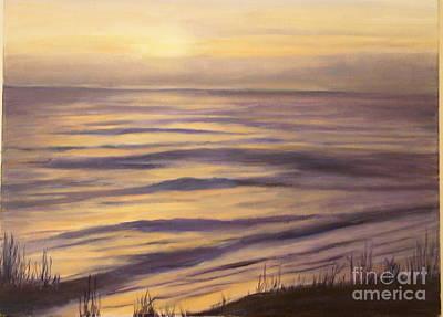 Painting - Ocean Nocturne by Alice Gunter