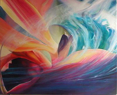 Painting - Ocean Paradise by Karen Hurst