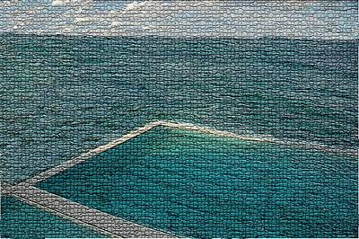 Photograph - Ocean Pool by Paula Greenlee