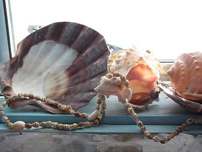 Ocean Treasures Art Print by Amy Bradley