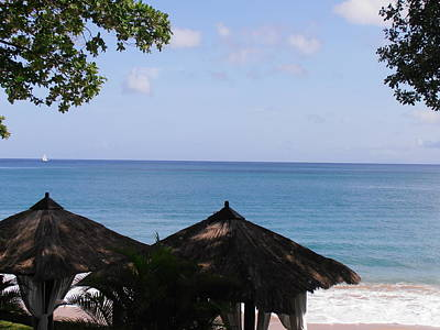 Saint Lucia Photograph - Ocean View by Kimberly Perry