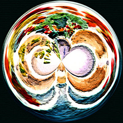 Painting - Oceana Orb by Paula Ayers