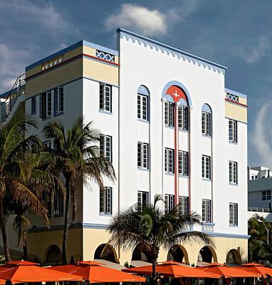 Photograph - Ocean's Ten. Miami. Fl. Usa by Juan Carlos Ferro Duque