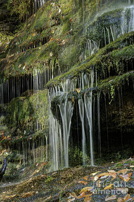 Photograph - Oconee Station Falls Detail  by David Waldrop