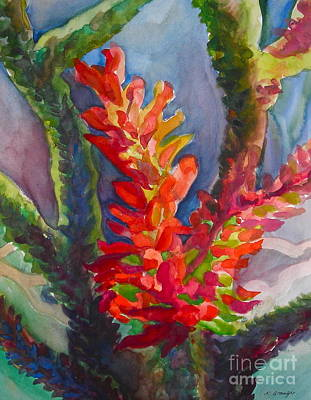 Painting - Ocotillo by Veronique Branger