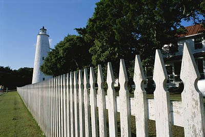 Ocracoke Lighthouse Photograph - Ocracoke Lighthouse by Brian Gordon Green