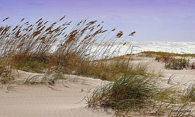Photograph - October Sands by Beth Hughes