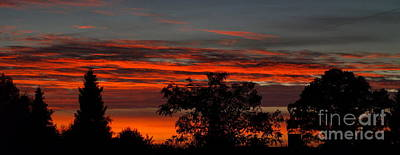 Photograph - October Sky 2 by Michael Canning