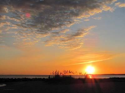 Photograph - October Sunrise by Jennie Richards