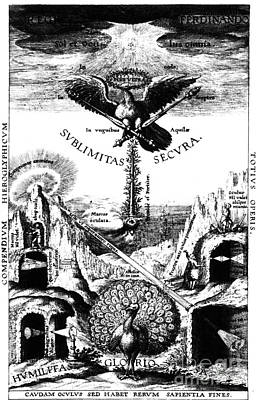 Visual Perceptions Photograph - Oculus Hoc Est Fundamentum Opticum, 1619 by Science Source