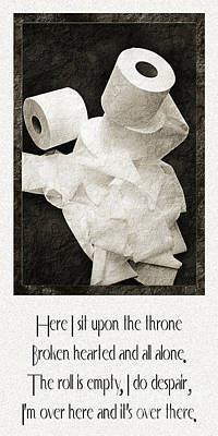 Photograph - Ode To The Spare Roll by Andee Design