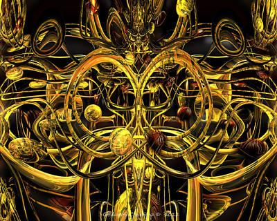 Digital Digital Art - Of All Creation Fx  by G Adam Orosco