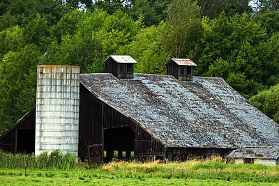 Photograph - Of Old Barns by Marie Jamieson