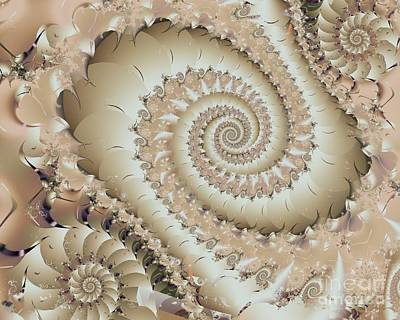 Digital Art - Of Sands And Shells by Michelle H