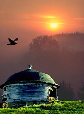 Of Setting Suns Print by Jon Lord