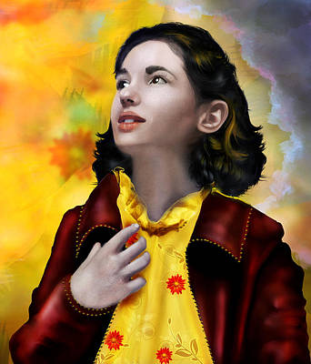 Young Digital Art - Ofelia's Dream by Mary Hood