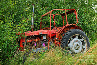 Old Tractors Photograph - Off Road by Lutz Baar