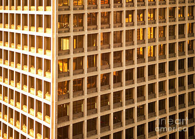Office Building Art Print by David Buffington