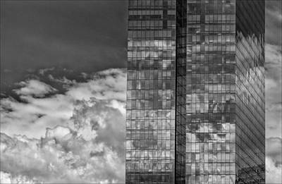 Sports Illustrated Covers - Office Buildings and Clouds White Plains NY 1 by Robert Ullmann