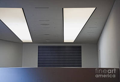 Cubicle Photograph - Office Ceiling by David Buffington