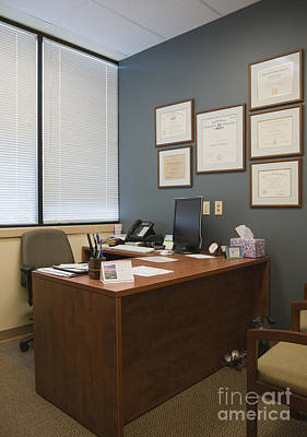 Office Space Photograph - Office Space by Andersen Ross