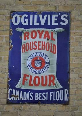 Bread Photograph - Ogilvie's Flour by Daryl Macintyre