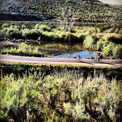 Mtb Photograph - Oh Hay! Fancy Seeing You Here #mtb by Kenyon Cotton