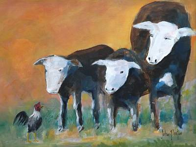 Painting - Oh Yeah by Gary Partin