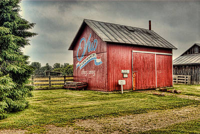 Art Print featuring the photograph Ohio Barn by Mary Timman