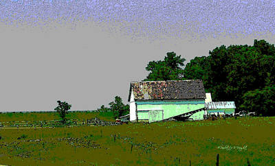 Photograph - Ohio Barn by Paulette B Wright