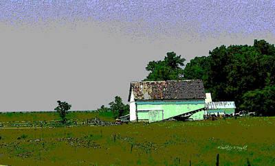 Photograph - Ohio Barn by Paulette B Wright