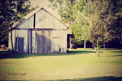 Photograph - Ohio Shed by Paulette B Wright