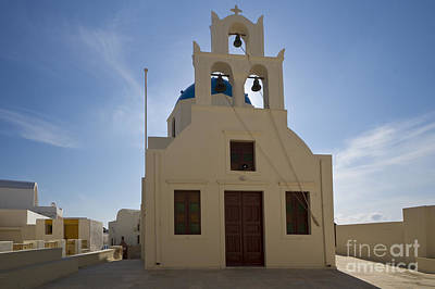Photograph - Oia Church by Dennis Hedberg