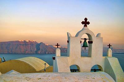 Cyclades Photograph - Oia In Santorini by David Smith