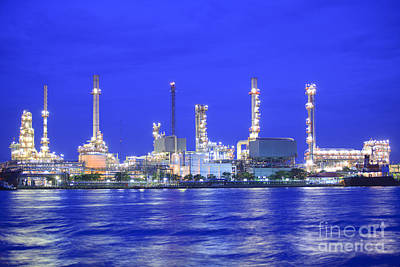 Oil Refinery Factory Original