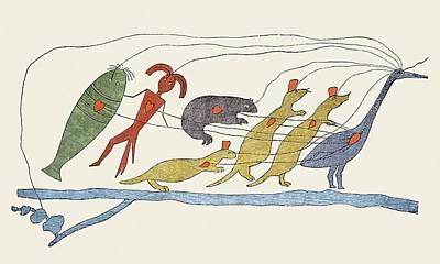 Ojibwe Native American Petition, 1849 Art Print