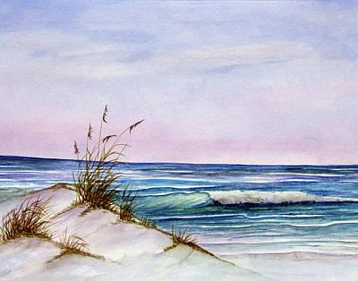 Okaloosa Beach Art Print by Rosie Brown