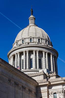 Oklahoma State Capitol Dome Art Print by Doug Long