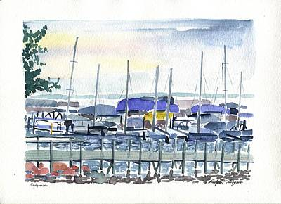 Painting - Okoboji by Rodger Ellingson