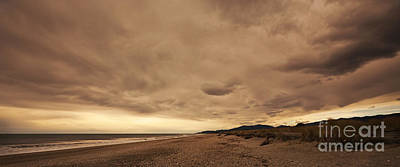 Photograph - Okuru Beach Clouds by Odille Esmonde-Morgan